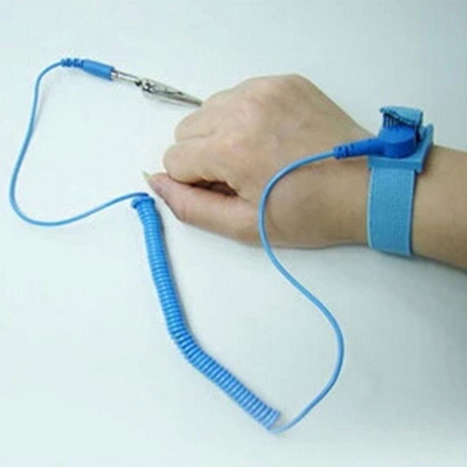 anti-static wrist wrap (stock photo)